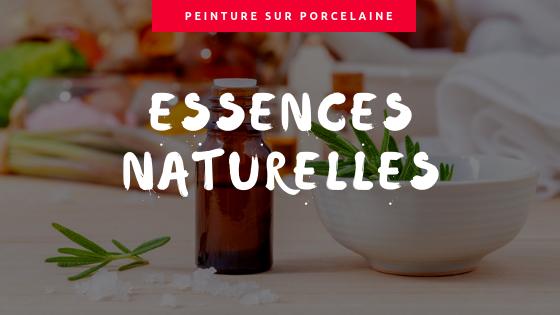 Connaissez vous les différences entre les essences naturelles utilisées en peinture sur porcelaine ?